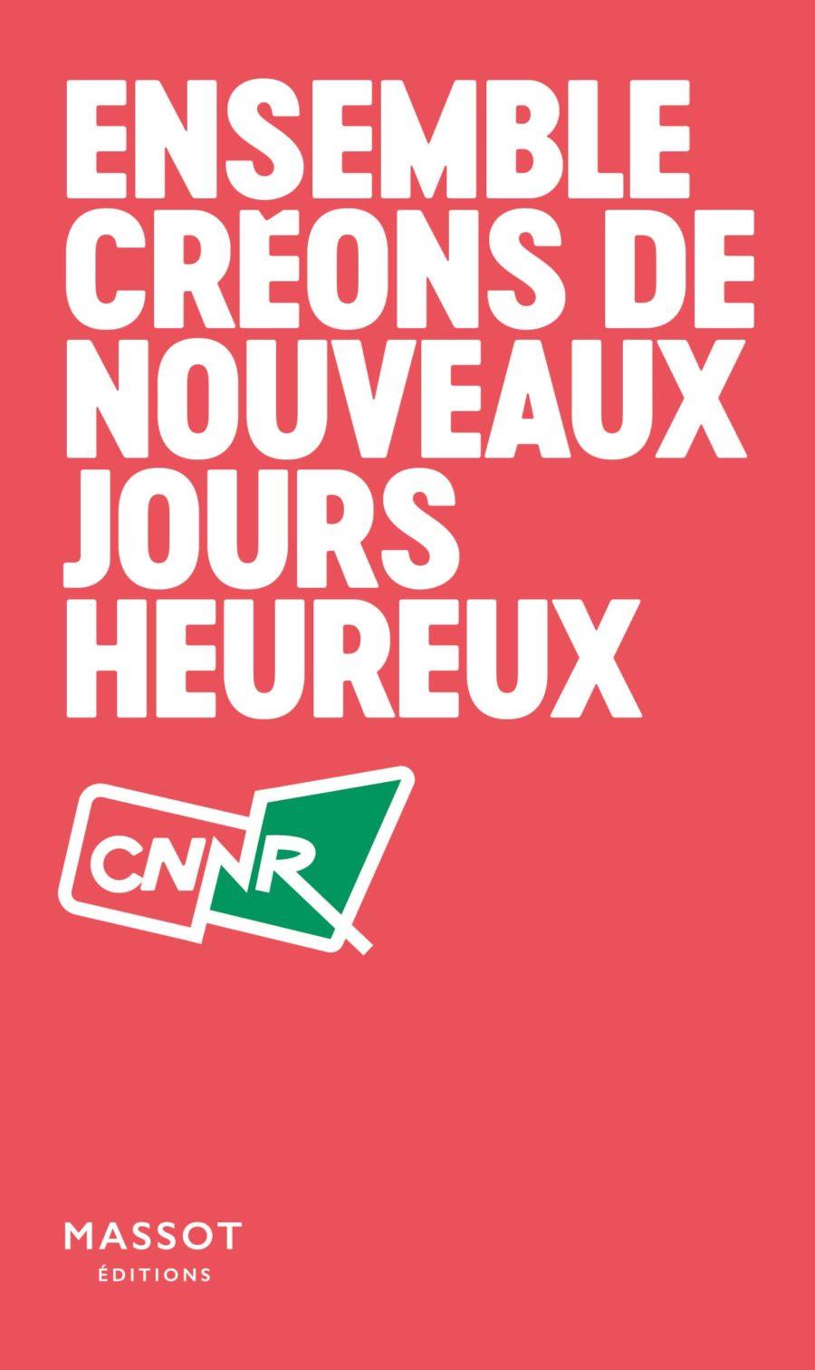 Couverture Manifeste CNNR